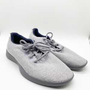 NWOT LIMITED GREY/ LAVENDER ALLBIRDS MEN SIZE 9